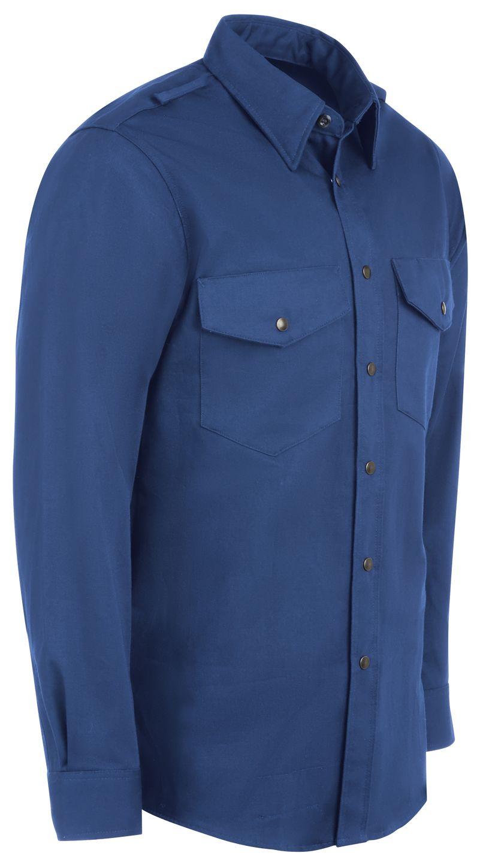 bulwark-fr-shirt-ses2-midweight-excel-snap-front-uniform-royal-blue-right.jpg