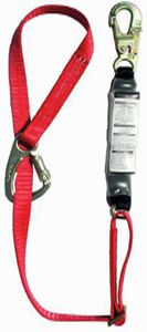 MSA 10047084 FP5K Tie-Back Single Leg Shock-Absorbing Lanyard