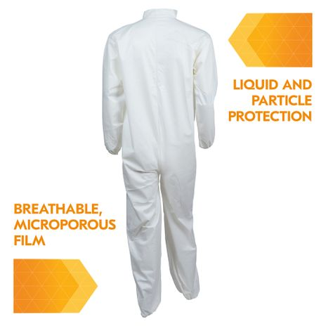 Kimberly Clark Kleenguard A40 Liquid & Particle Coverall Back