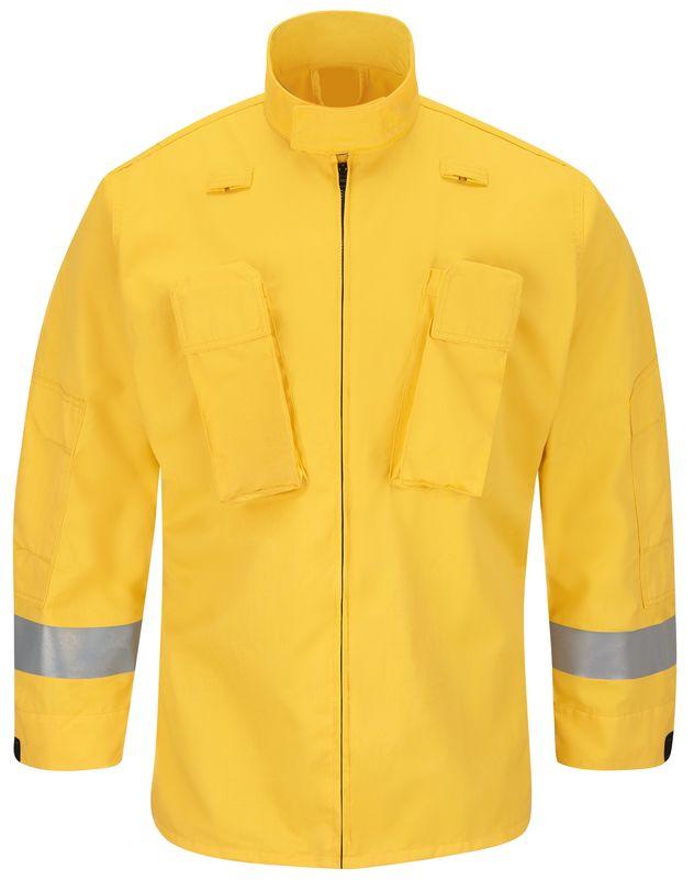 Workrite FR Jacket FW80, Wildland Yellow Front