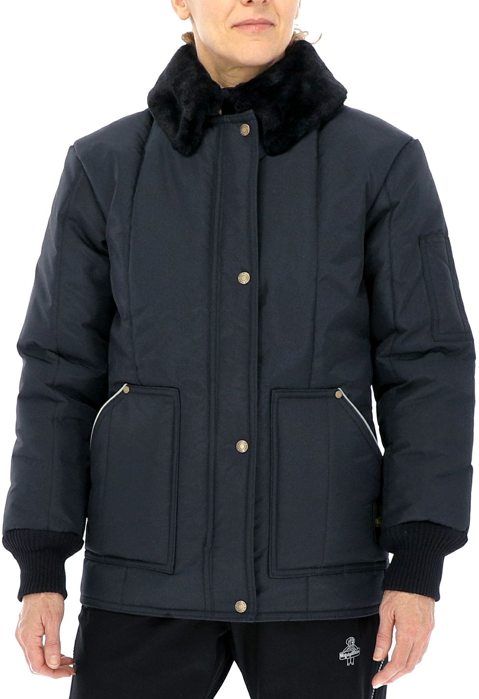RefrigiWear 0323 Iron-Tuff Women's Cold Weather Work Coat Example