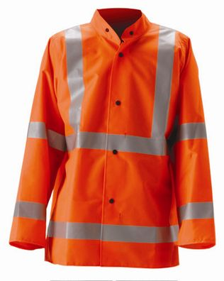 nasco worklite hi vis lightweight tear resistant foul weather jacket