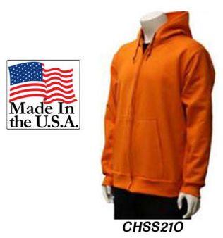 Cementex CHSS21O 21Cal lndura® Ultra Soft® FR Hooded Sweatshirt, Orange