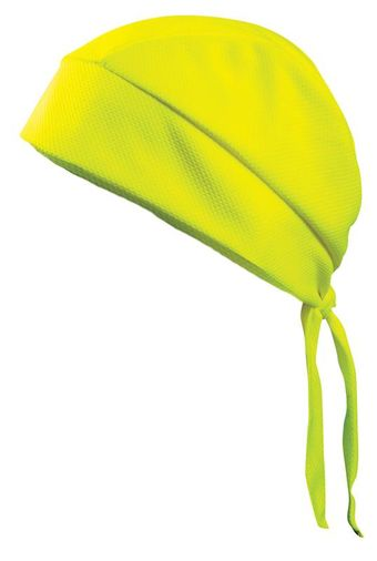 Occunomix TD200 Tuff & Dry Wicking and Cooling Skull Cap HiViz Yellow