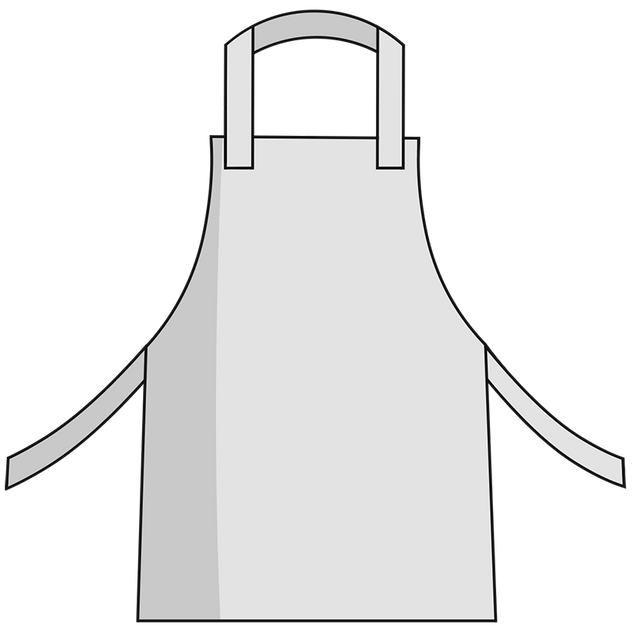 Otterlayer aluminized apron A11-ACF