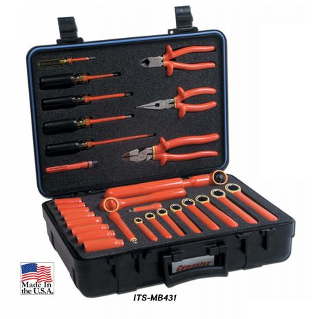 Cementex ITS-MB431 Deluxe Maintenance Kit W/ Gear Wrench, 30PC