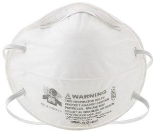 3M Particulate Respirators 8240 - R95 Front
