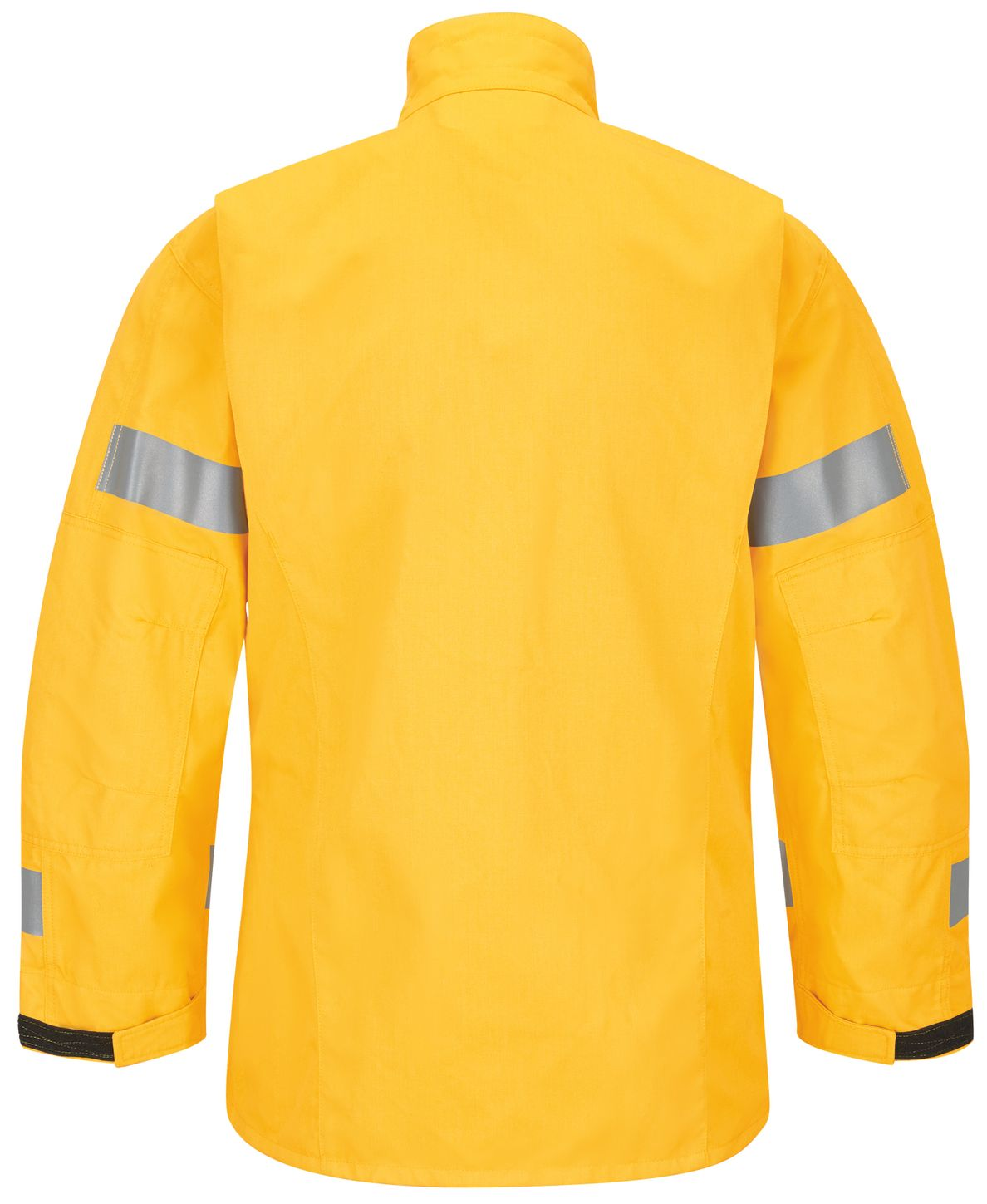 Workrite FR Jacket FW81, Relaxed Fit Wildland Yellow Back