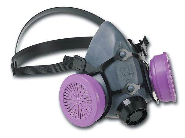 Honeywell North Safety 5500-Series Respirator Half Mask 550030 - Economical Elastomeric Right Side