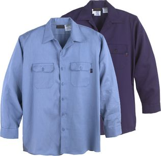 Workrite Arc Flash Shirt 231ID70/2317 - 7 oz Indura, Long Sleeve