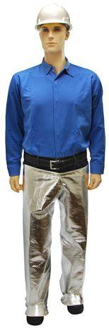 Otterlayer aluminized leggings waist joined front full height LH4-ACF
