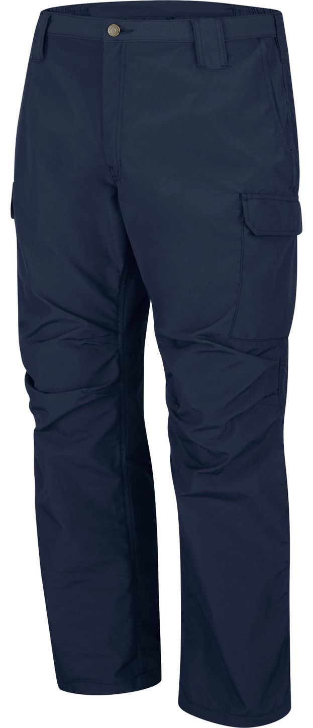 Bulwark FR Workrite Tactical Ripstop Pants FP40 Navy Left