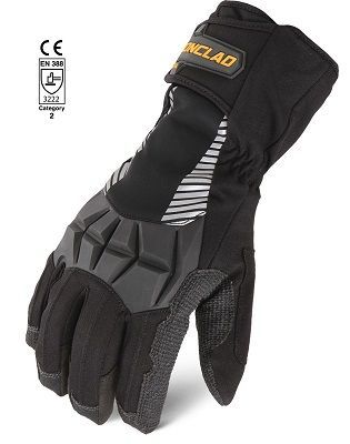 Ironclad CCT Tundra Cold Weather Heavy Duty Work Gloves Back
