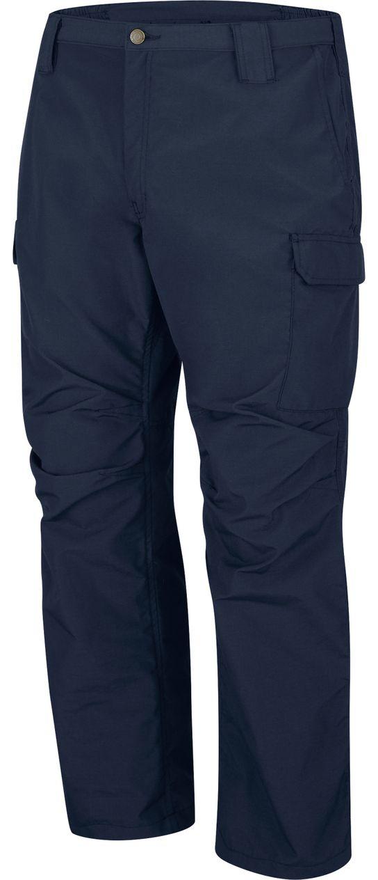 Bulwark FR Workrite Tactical Ripstop Pants FP40 Navy Left