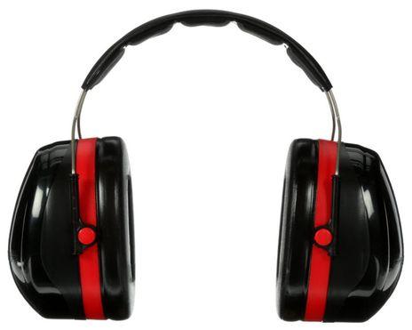 3M Peltor Optime 105 Earmuffs H10A Back