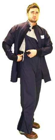 CPA Arc Flash Suit AG20 - 20 Calorie with Jacket and Bib Overall, HRC 2 12 Calorie Bib Overalls