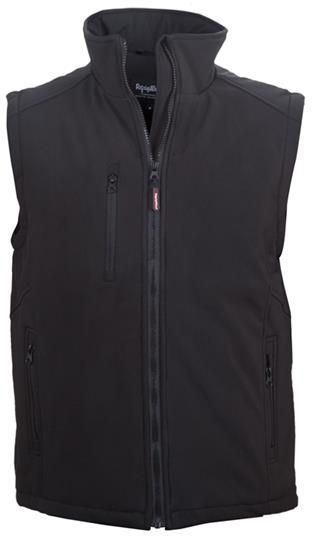 RefrigiWear Cold Weather Apparel - Insulated Softshell Vest 0492
