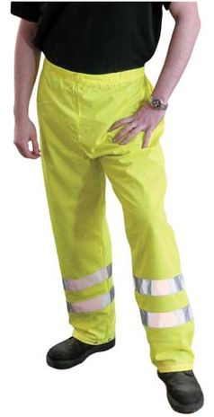 Occunomix OccuLux Safety Pants LUX-TENBR - Breathable and High Visibility Example