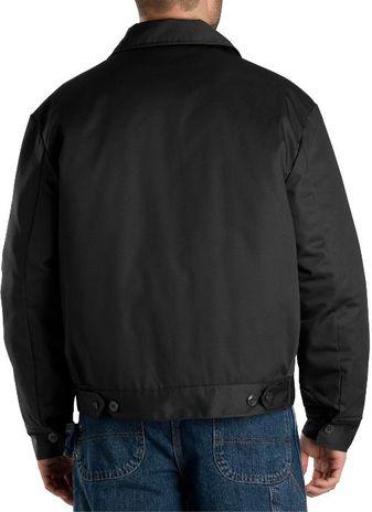 Dickies Men's Outerwear - Lined Eisenhower Jacket TJ15 - Black