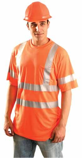 Occunomix LUX-SSTP3 OccuLux Hi Viz Ultra Cool Wicking T-Shirt