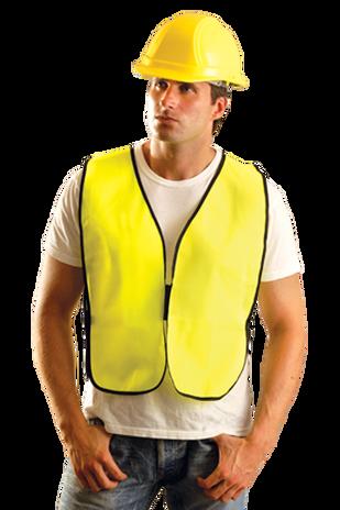 Occunomix LUX-XNTS Hi-Viz Solid Vest, NON-ANSI