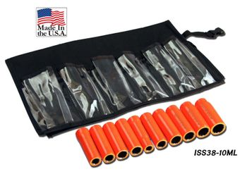 Cementex ISS38-10ML Insulated 12-Point Deep Wall Sockets Set, Metric 10PC