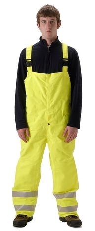 NASCO Omega 5001TFY Arc Flash Fire Breathable Bib Overall