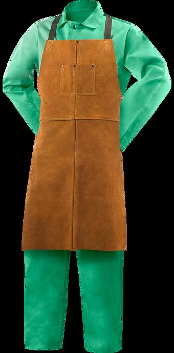 Steiner Weld Rite Leather Bib Apron 92165 Front