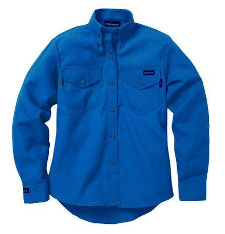 Workrite 290NX45RB Royal Blyu Color Nomex IIIA Shirt