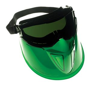 Jackson Safety V90 The Shield 301034x Anti-Fog Goggles w/ Detachable Face Guard
