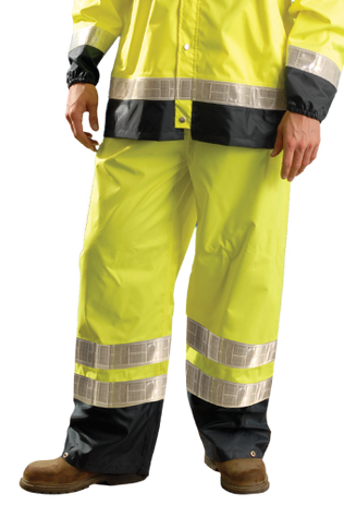 Occunomix LUX-TENRGT High Visibility Breathable Rain Pants