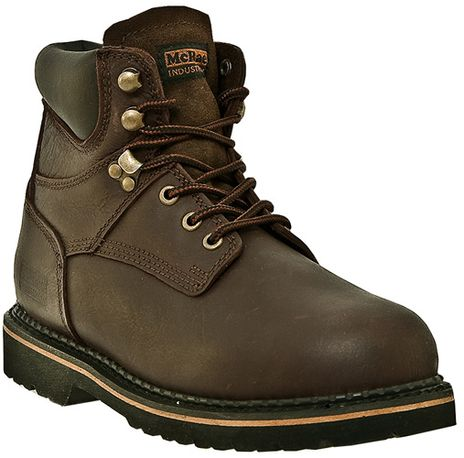 """McRae 6"""" Soft Toe Leather Work Boots MR86144"""