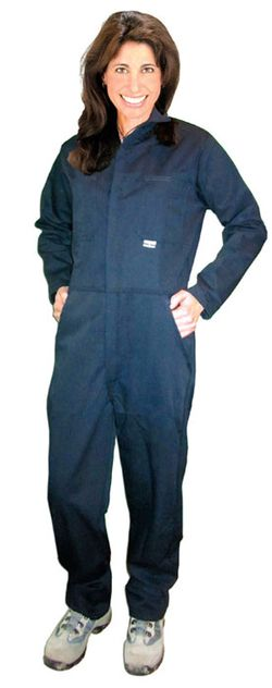 CPA Chicago Protective Apparel 605-USN Indura UltraSoft FR Coverall