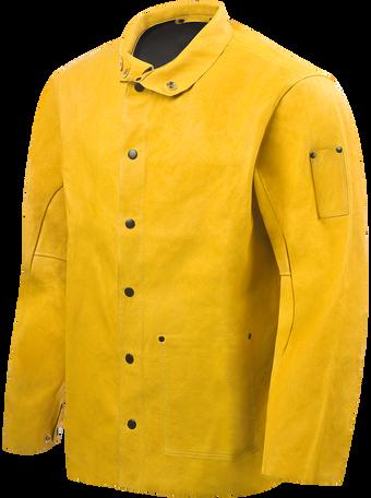 Steiner Weld-Cool Lite Leather Welding Jacket 92P6 Front