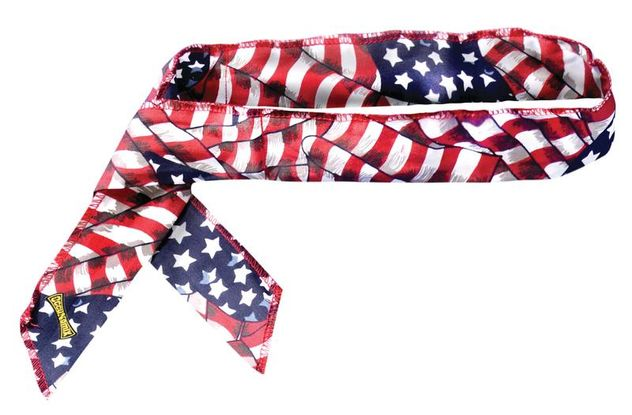Occunomix 940-24 Miracool® Neck Bandana 24 pc pack, Assorted Flag