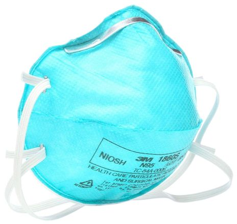 3M Surgical Particulate Respirator 1860S - N95 Side