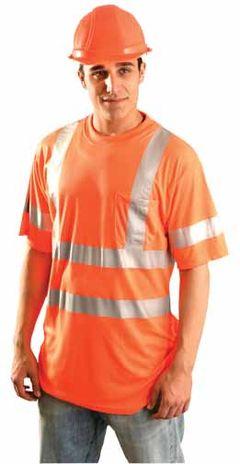 Occunomix OccuLux Hi Viz Ultra Cool Wicking T-Shirt LUX-SSTP3 Front