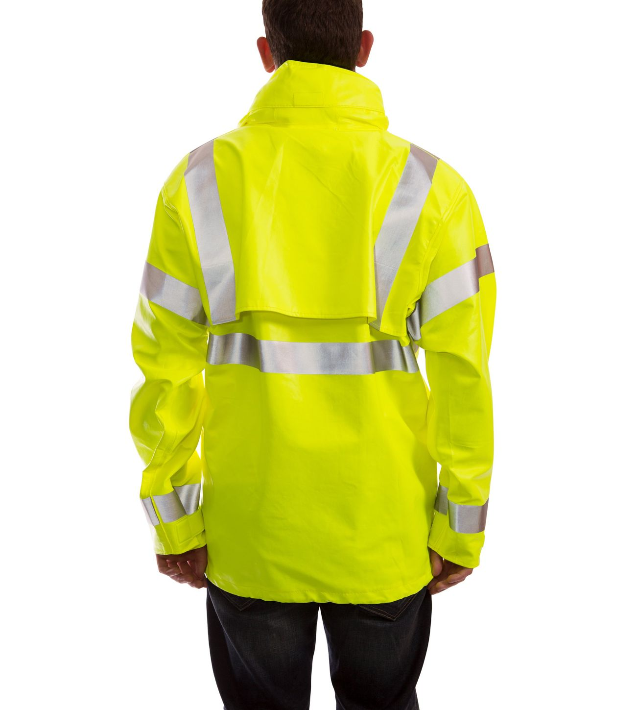 tingley-eclipse-arc-flash-and-fire-resistant-rain-jacket-pvc-on-nomex-chemical-resistant-class-3-hi-vis-fluorescent-yellow-green-back.jpg