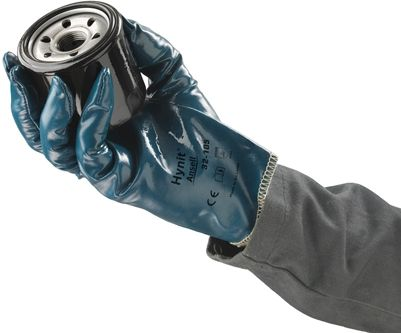 Ansell Hynit Work Gloves 32-105 Nitrile Impregnated Example