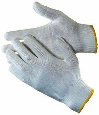 cotton work gloves string knit 10ga ha0210