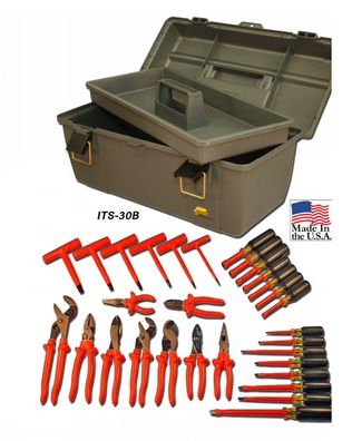 Cementex ITS-30B Basic Insulated Electrician's Kit, 30PC
