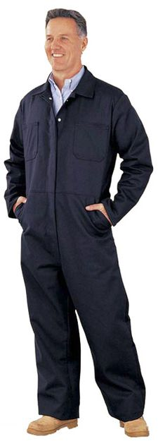 Chicago Protective 605-FR9B Fire Resistant Vinex Coveralls