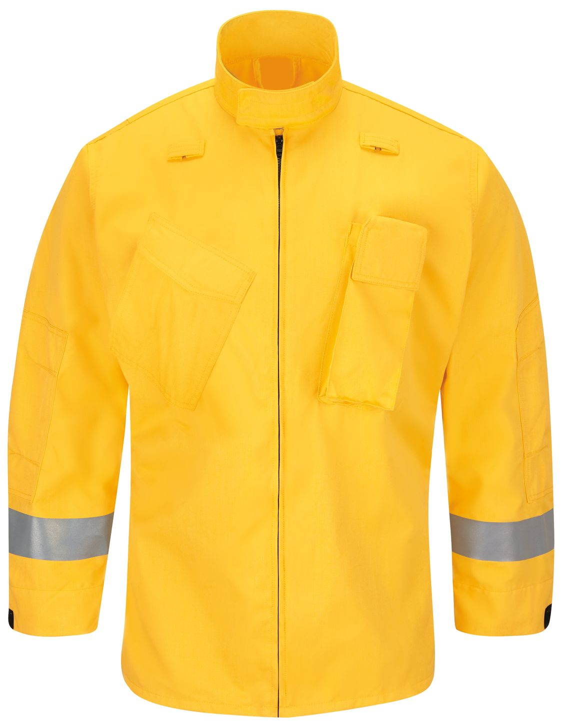 Workrite FR Jacket FW81, Relaxed Fit Wildland Yellow Front