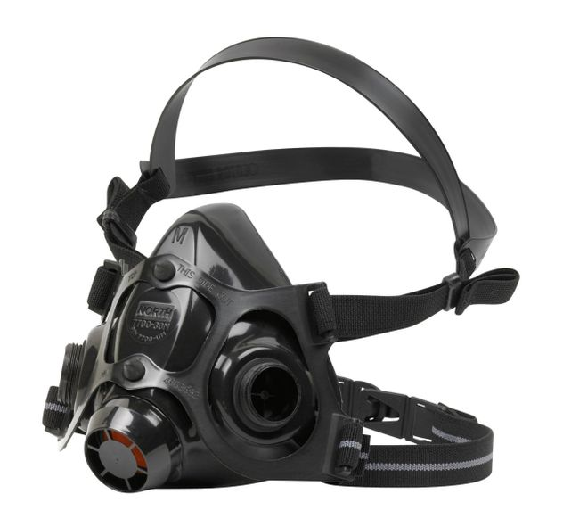 north safety 7700-series half mask respirator