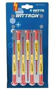 Knipex Tools Insulated Precision Screwdriver Set 9T 89377