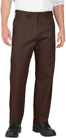 Dickies Men's Pants - Industrial Flat Front Pant LP812 - Dow Brown