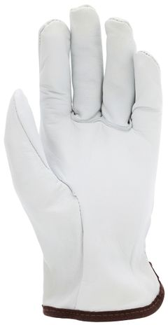 MCR Safety Premium Goatskin Driver Leather Gloves 3601 Palm