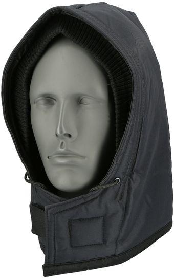 RefrigiWear 0081 Iron-Tuff Cold Weather Snap-On Hood - For Iron-Tuff Work Outerwear Navy