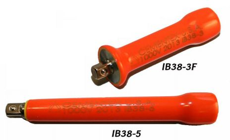 "Cementex Insulated 3/8"" Drive Extension Bar"