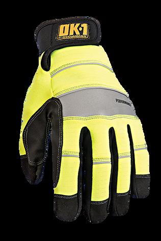 Occunomix OK-CCG350 CoolCore® HiViz Performance Gloves Top